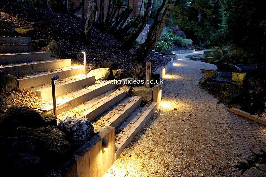 Path lighting gallery light ideas international ltd for Walkway lighting ideas