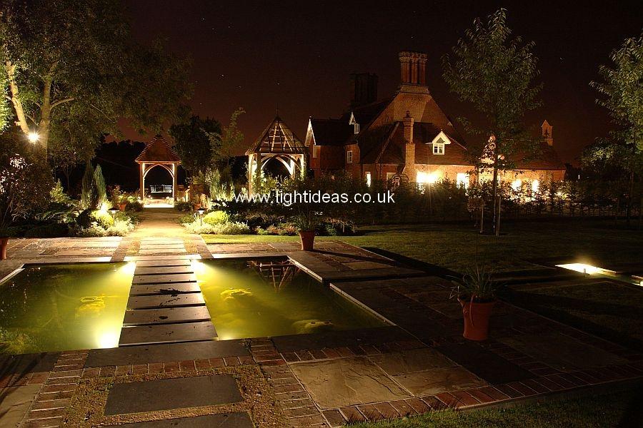 Lighting galleries light ideas international ltd for Koi pond lights